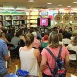 El público llenaba la sala