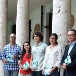 En el claustro de La Universitat de València
