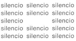silencio_EugenGomringer_1
